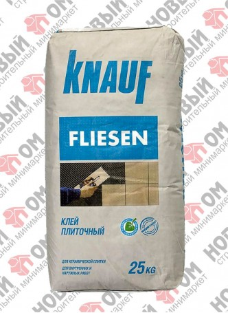 Клей плиточный Флизенклебер Кнауф(Flizenkleber Knauf) 25кг