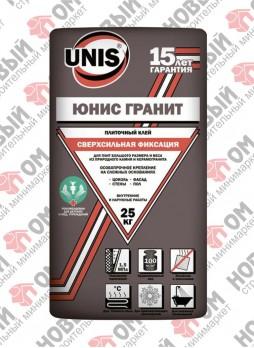 ЮНИС Гранит / UNIS Granit плиточный клей (25 кг)